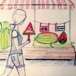 """수박, watermelon """"soo bahk"""""""
